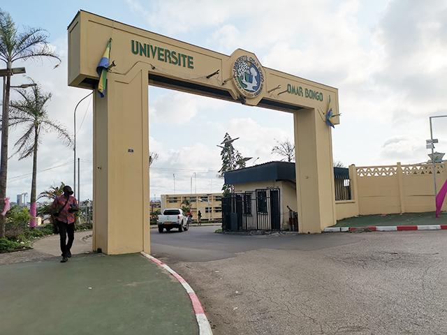 """UOB : """"il n'y a pas de raison de suspendre les cours à la FDSE"""", selon Frédéric Tom Mambenga"""