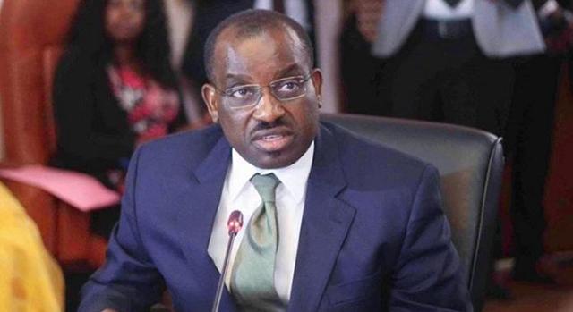 Le ministre Vincent de Paul Massassa à Abuja au Nigéria à la 4e édition du Nigeria International Petroleum Summit (NIPS)*
